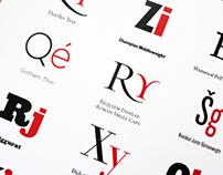 HTF Fonts & Slab Serif Fonts...
