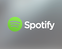 Spotify iOS7 (conceptual)