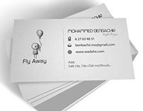 "Card ""Fly Away"""