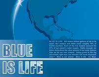 Blue Is Life, Color Symbolism