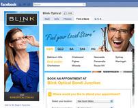 Blink Optical Facebook Application