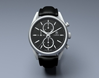 TAG Heuer Carrera Watch | 3D Modeling