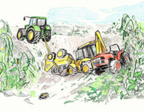 Tractors / Children's Book