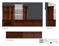 Works /2012-2013/-11: Harrods Tea&Coffe Room Furniture