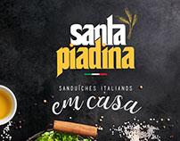 Santa Piadina - Sanduíches Italianos