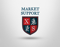 XS MARKET SUPPORT logotype and more