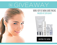 Beauty || Contest - Facebook and Squeeze Page