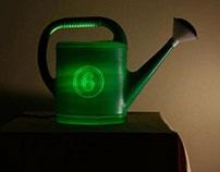 Watering pot lamp