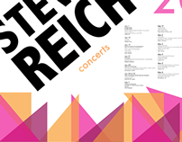 Steve Reich poster project