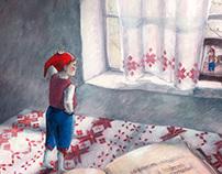 illustrations for Nils Holgerson