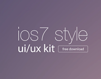 ios7 style ui kit