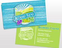 Hillberry Farms Logo Design