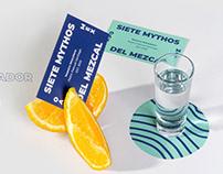 7 MYTHOS DEL MEZCAL - Branding and label