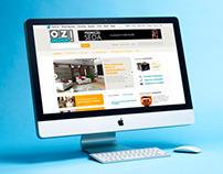 Portal de conteúdo OZ! Organize sua Vida