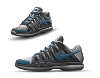 Core Pro 3 - Tennis Shoe Render