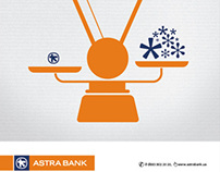 Astra Bank. Image Campaign
