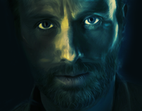 Rick Grimes Illustration / The Walking Dead