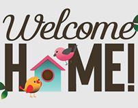 Welcome Home! On Behance