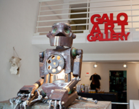 """GARDEN OF EDEN""      solo show at GALOARTGALLERY"