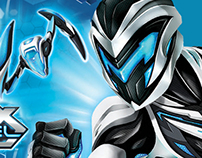 MAX STEEL™--packaging/branding Mattel Toys