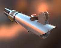 Anakin Light Saber (Lowpoly Model)