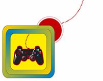 PLAYSTATION, game logotypes
