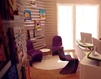 """Atos"" office interior design"