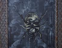 Dark's the Future - Mutations - Paintings