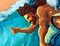 Free Surf Ilustration