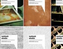 Carteles Promocionales para TuitTuit Studio