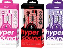 Hyper Sound In-Earphone Package Design