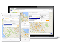 Supplier Locator Web/ Mobile Web design