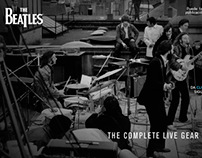 Catálogo The Beatles - The Complete Live Gear