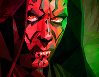Darth Maul / Cubismo