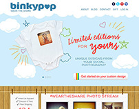 Binkypop E-Commerce Website Design