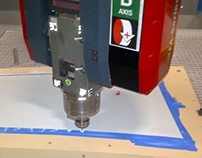 Boeing 737 Wing Panel Countersink Tool