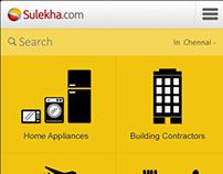 Sulekha.com Mobile Web App