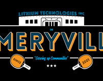 Emeryville T-shirt for Lithium Technologies