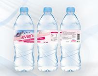 Evian | Label redesign