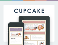 Cupcake Email Template