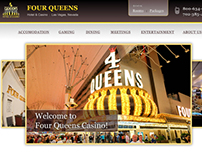 4Queens Casino Las Vegas: Website