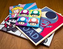 Nintendo Pop Art - canvas