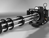 3D Minigun Project