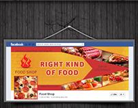Food Shop Facebook Timeline Covers Pack v1