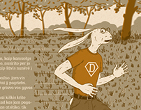 "Picture book ""HARE DAREDEVIL"""