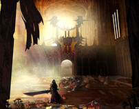 """Eve of Ebon"": Enviroment Concept Art"