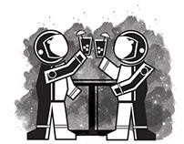 Astronaut Happy Hour!