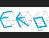 Eko Cube logo design