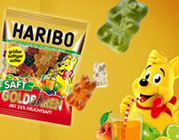 HARIBO Saftgoldbären
