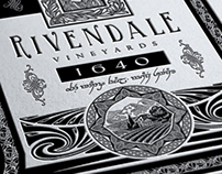 Lord of the Rings Rivendale Wine Vintage Geek Art
